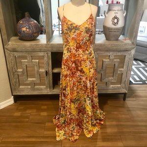 Long Flowing Chiffon Maxi Dress